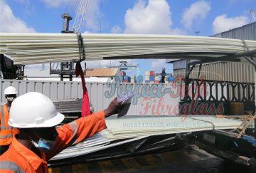 fibreglass transparent roofing sheet