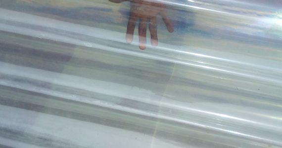 fibre transparent sheet