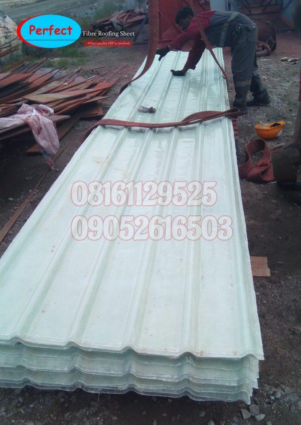 Fibre Transparent Roofing Sheet
