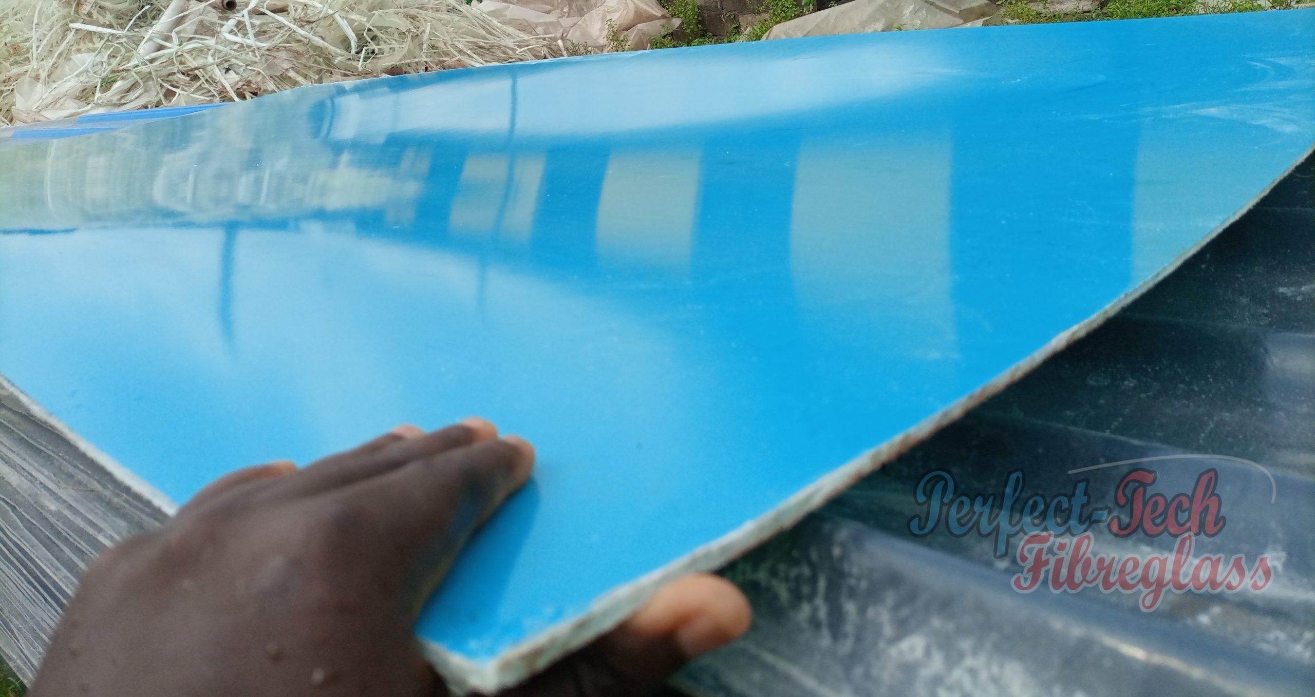 Fiberglass boards or flat sheet